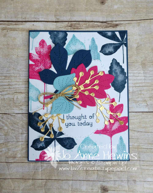 Color Fusers for September Love of Leaves by Jo Anne Hewins