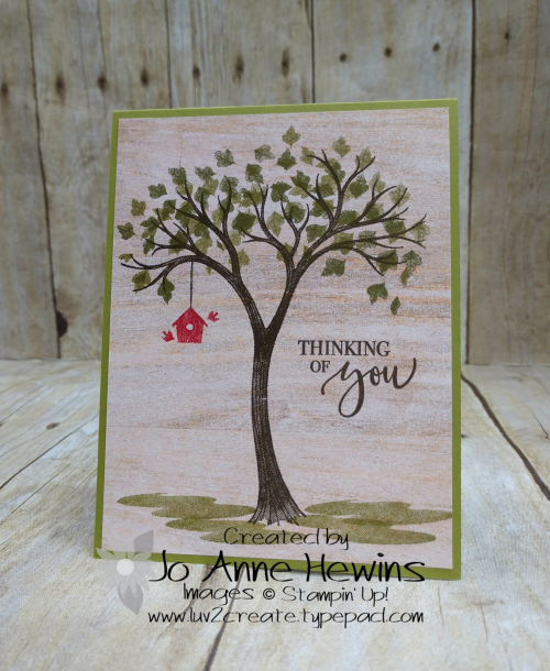 Life is Beautiful Card by Jo Anne Hewins