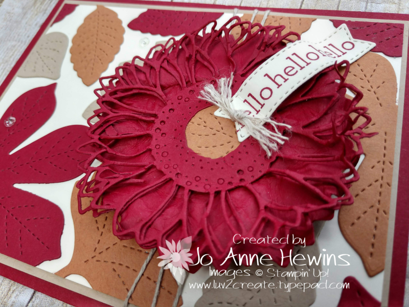 Color Fusers October Love of Leaves by Jo Anne Hewins