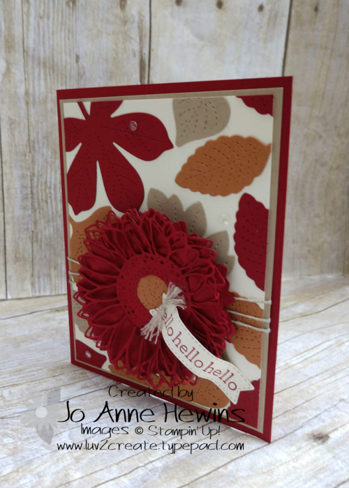 Color Fusers for October Love of Leaves by Jo Anne Hewins