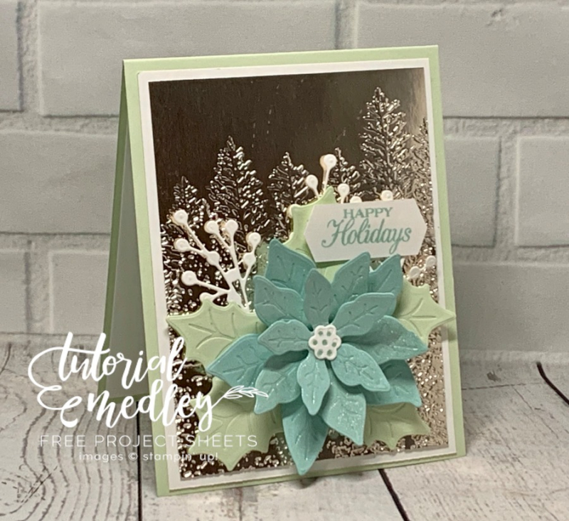 Tutorial Medley for October Poinsettia Petals
