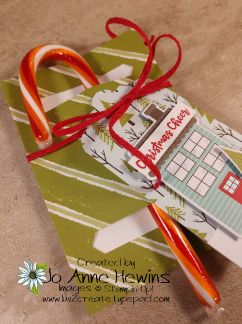 Candy Cane Holder CASE from Aug-Dec Mini by Jo Anne Hewins