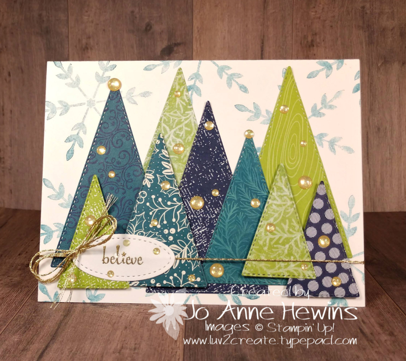 Color Fusers December Project by Jo Anne Hewins