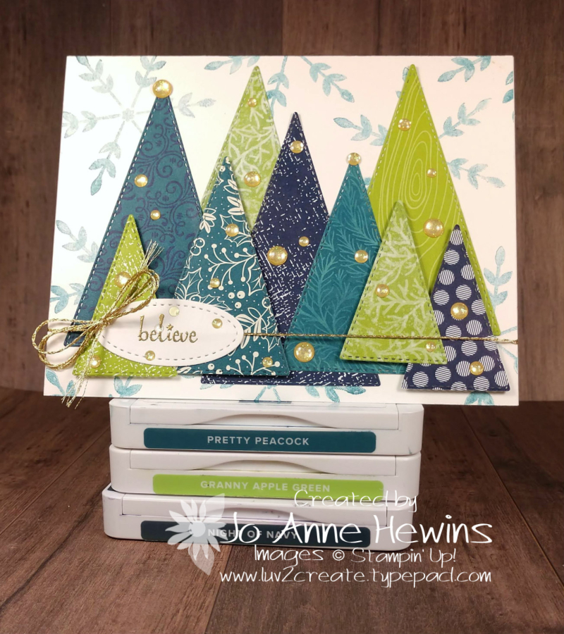 Color Fusers December Offering by Jo Anne Hewins