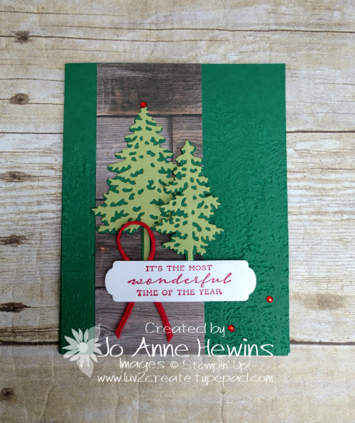 In the Pines with In Good Taste DSP by Jo Anne Hewins