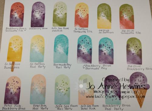 Ice Cream Corner Suite Ice Cream Colors by Jo Anne Hewins