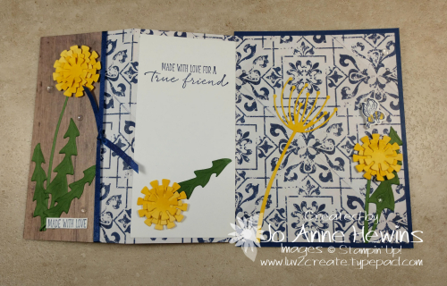 Garden Wishes Bundle Fun Fold by Jo Anne Hewins
