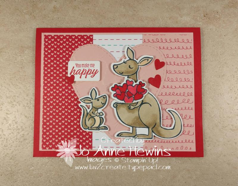 Kangaroo & Company Valentine by Jo Anne Hewins