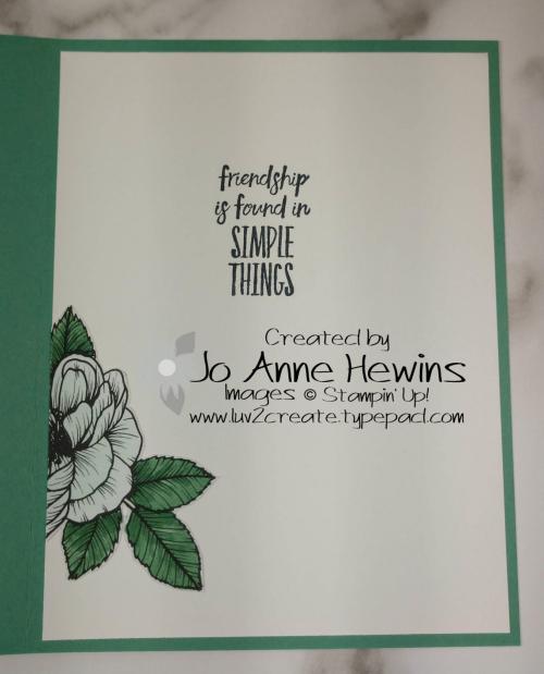 CCMC#648 True Love Inside by Jo Anne Hewins