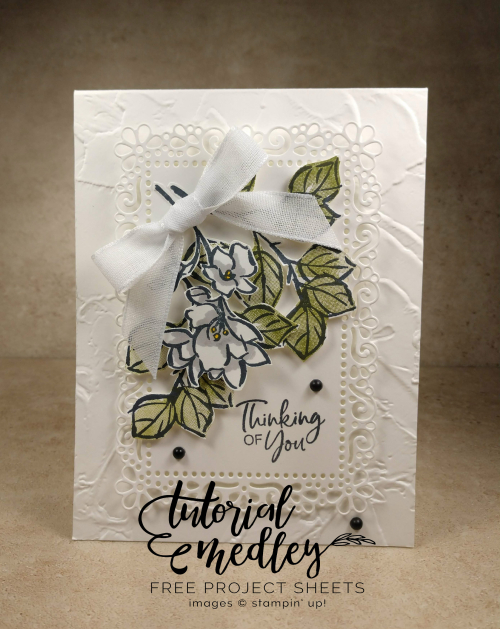 Tutorial medley A Touch of Ink by Jo Anne Hewins