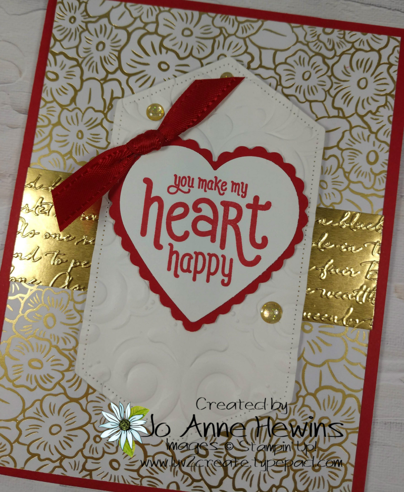 Valentine Heart Punch Pack Close Up by Jo Anne Hewins