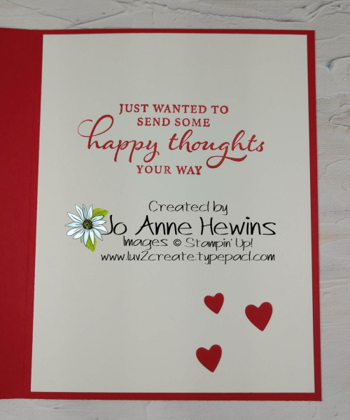 Valentine Heart Punch Pack Inside by Jo Anne Hewins
