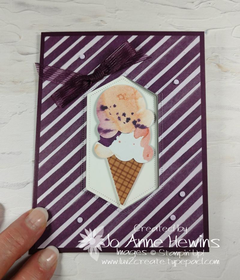 Swing Fold Sweet Ice Cream by Jo Anne Hewins