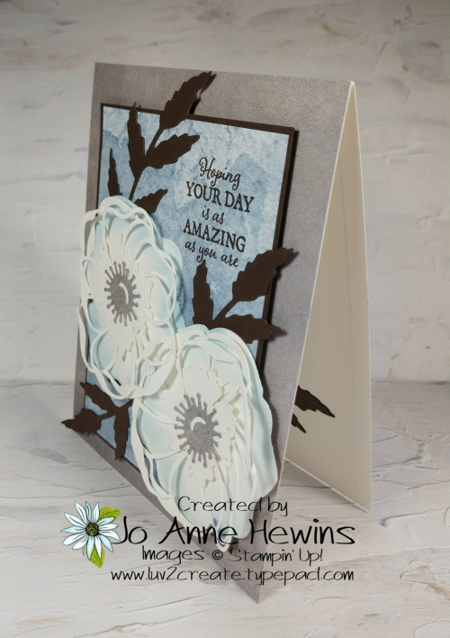 Color Fusers Poppy Moments for March by Jo Anne Hewins