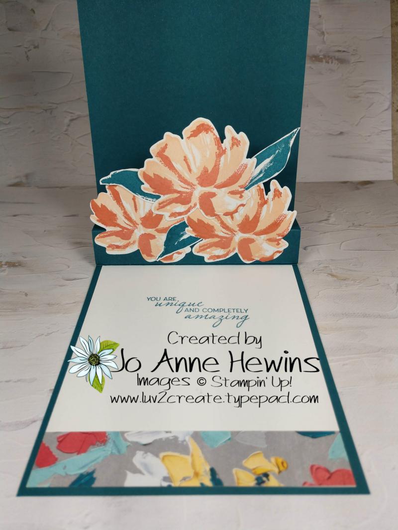 Art Gallery Pop Up Inside by Jo Anne Hewins
