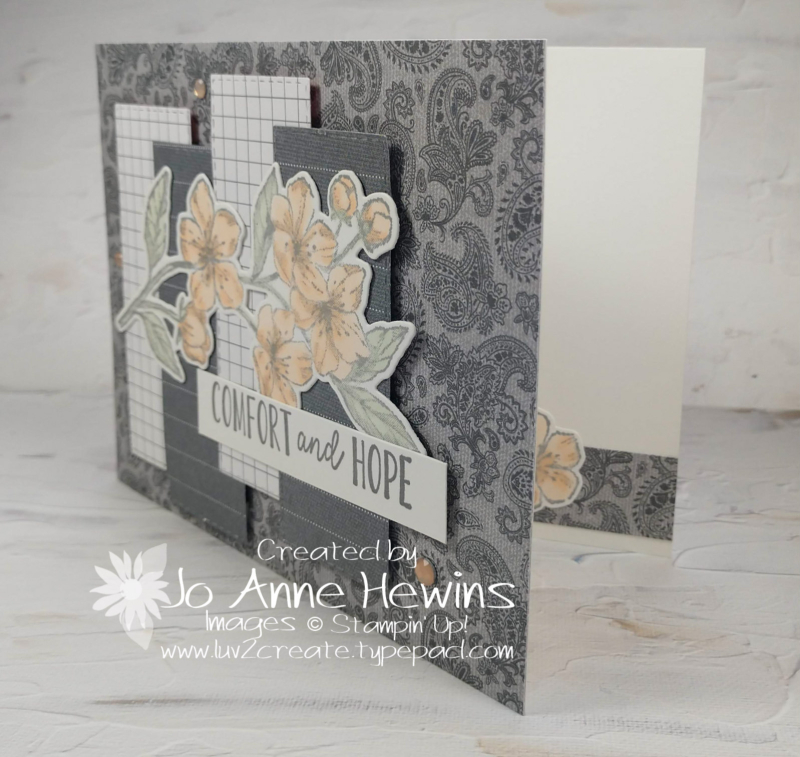 CCMC#653 Forever Blossoms Card by Jo Anne Hewins