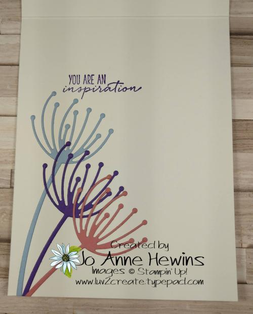 CCMC #654 Dandy Wishes Inside by Jo Anne Hewins