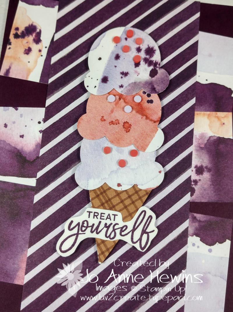 CCMC #655 Sweet Ice Cream Close Up by Jo Anne Hewins