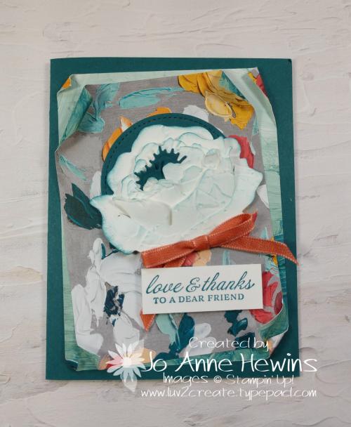 Prized Peony by Jo Anne Hewins