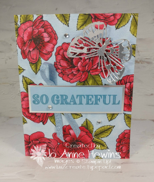 Color Fusers April True Love with Butterfly by Jo Anne Hewins