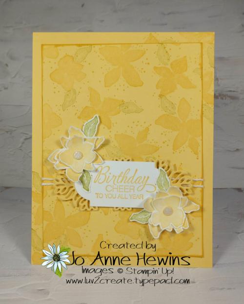 Parcels & Petals Card by Jo Anne Hewins