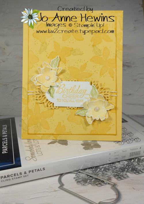 Parcels & Petals Project by Jo Anne Hewins