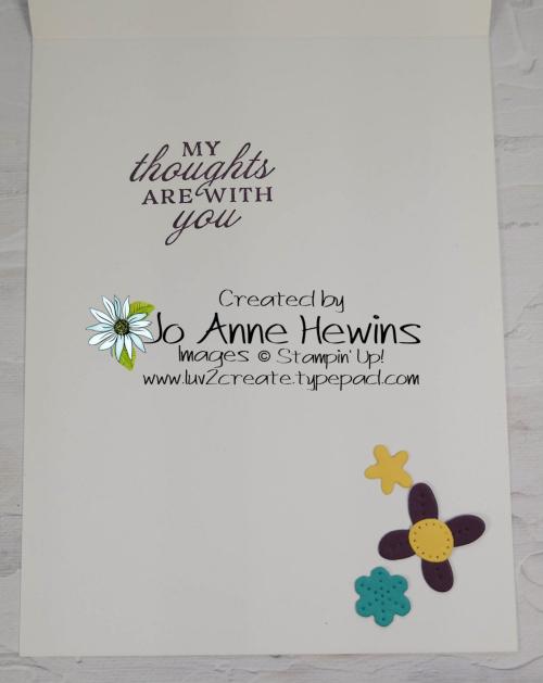 CCMC #658 Pierced Blooms Inside by Jo Anne Hewins