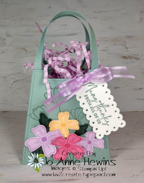 OSAT Flowers of Friendship Bag by Jo Anne Hewins