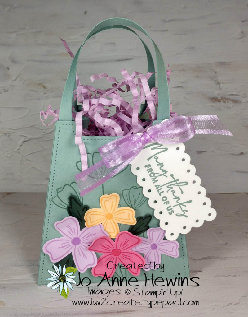 OSAT Flowers of Friendship Bag by Jo Anne Hewins