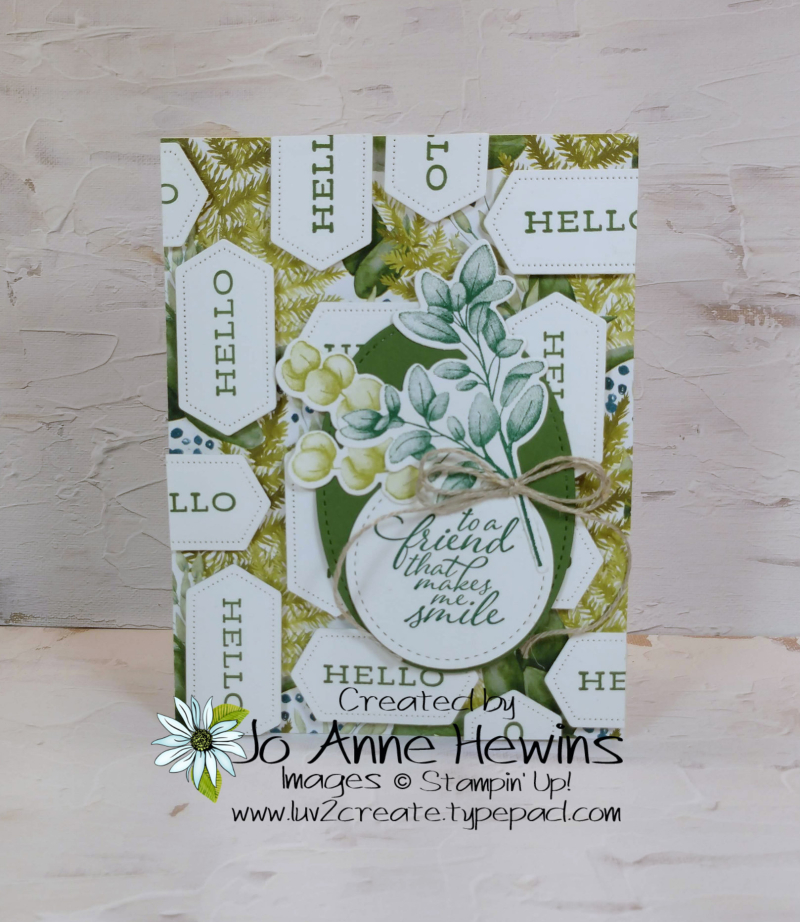 Forever Greenery Project by Jo Anne Hewins