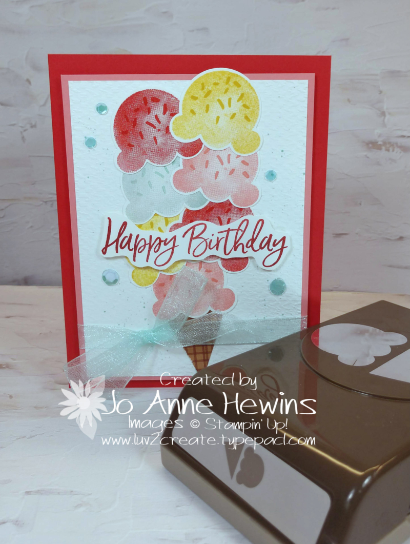 Color Fusers May Sweet Ice Cream and Punch by Jo Anne Hewins