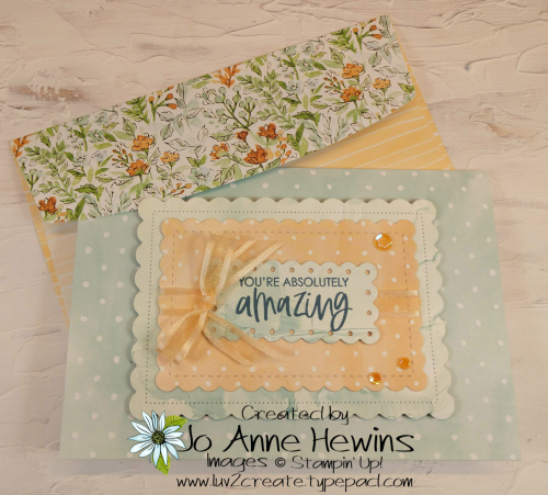 Hand-Penned Cards with Envelope by Jo Anne Hewins