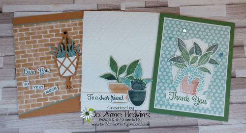 Facebook Live 5.26.2021 Plentiful Plants Cards by Jo Anne Hewins