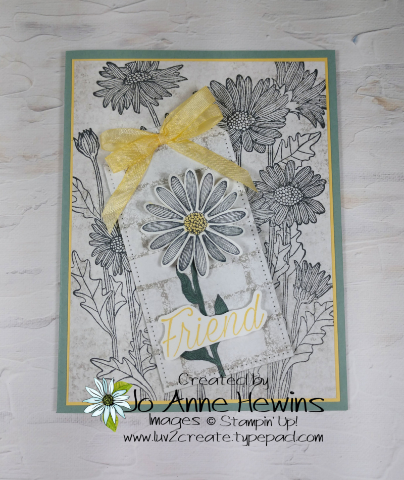 NC Demo Blog Hop for May Daisy Garden and Daisy Lane by Jo Anne Hewins