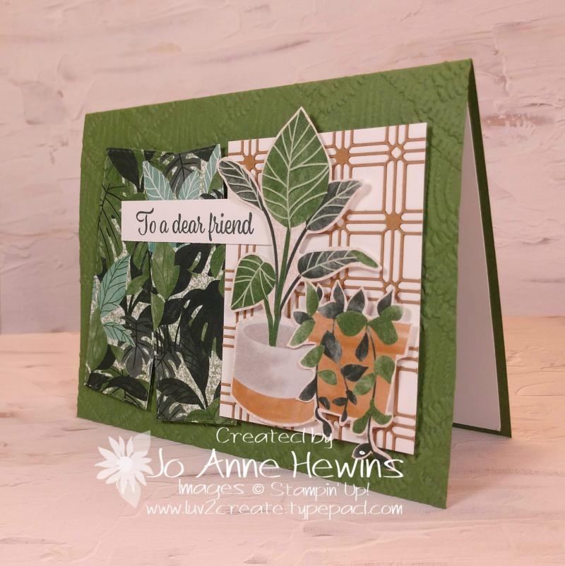 CCMC#668 Plentiful Plants by Jo Anne Hewins