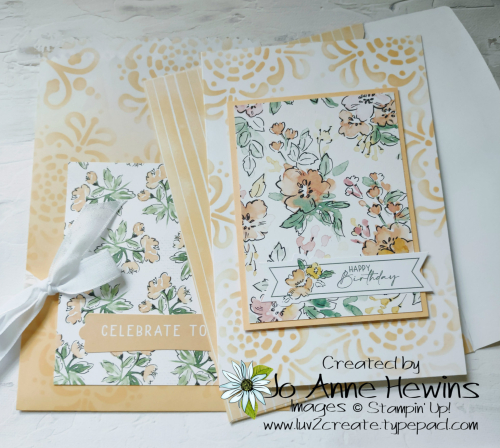 Ombre Bags and Hand-Penned Cards and Envelopes by Jo Anne Hewins