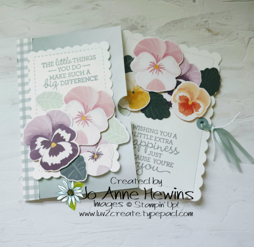 Ombre Gift Bag Open with First Pull Out by Jo Anne Hewins