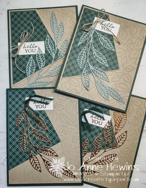Easy 6 x 6 One Sheet Wonder by Jo Anne Hewins