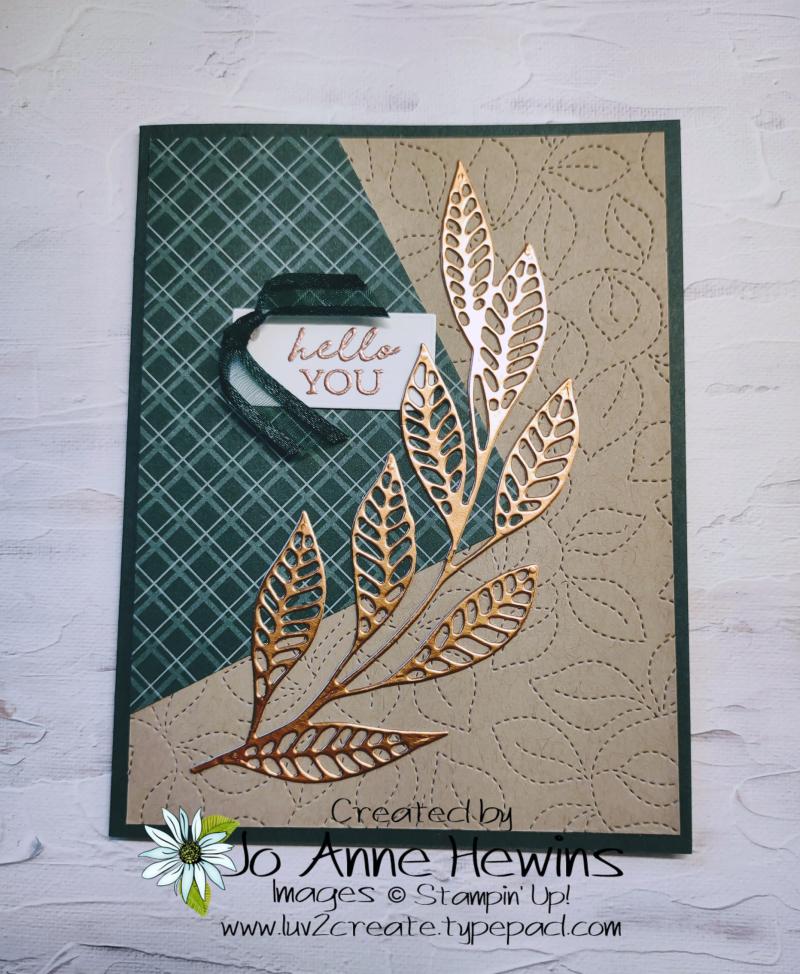 Easy 6 x 6 One Sheet Wonder Card 4 by Jo Anne Hewins