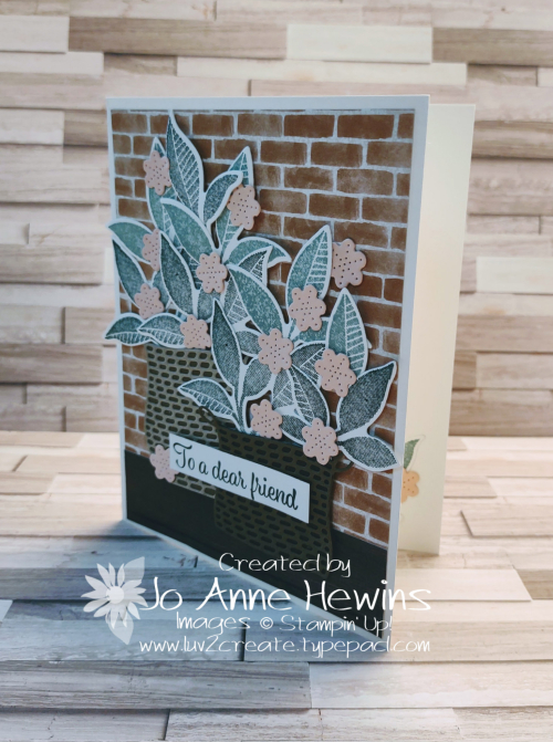 NC Demo Blog Hop for June Plentiful Plants Project by Jo Anne Hewins