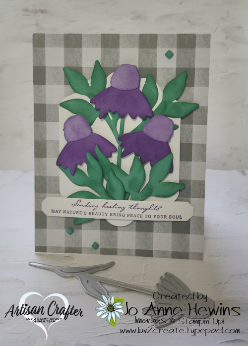 Color Fusers August Nature's Harvest with Die by Jo Anne Hewins