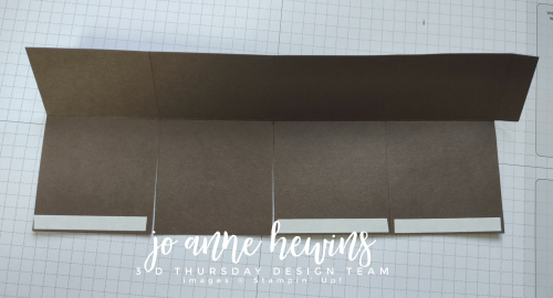 3D Thursday Chocolate Box with Tear and Tape by Jo Anne Hewins