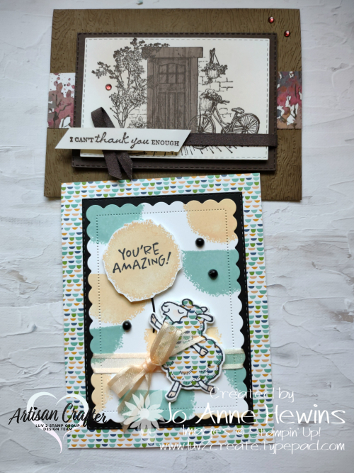 Facebook Live 9.15.2021 Paper Piecing Duo of Projects by Jo Anne Hewins