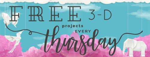3D Thursday Free Project Thursday