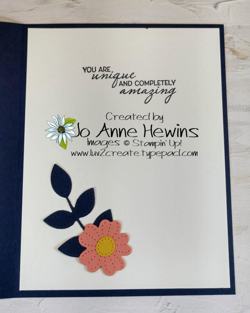 CCMC #664 Sweet Symmetry Inside by Jo Anne Hewins