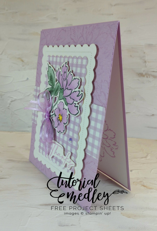 Tutorial Medley Hand-Penned Card
