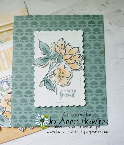 Ombre Bags Inside Card by Jo Anne Hewins