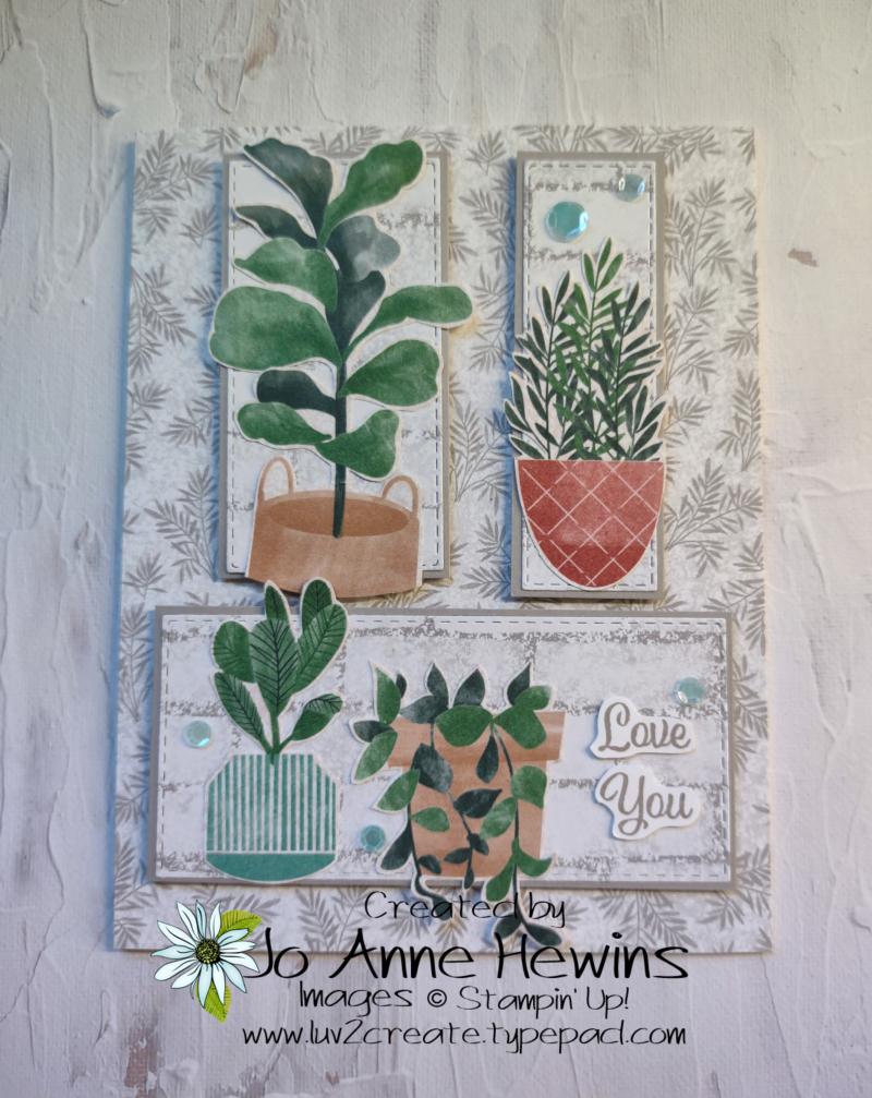 CCMC #672 Plentiful Plants by Jo Anne Hewins