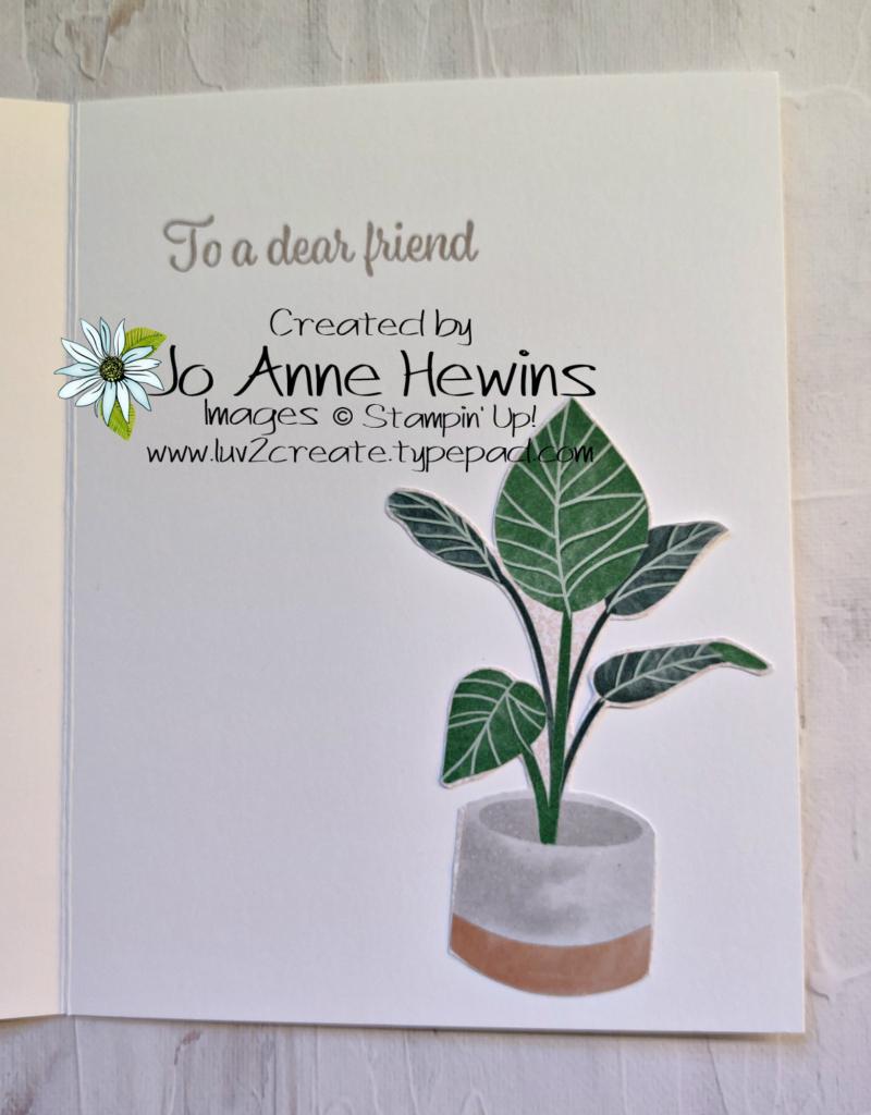CCMC #672 Plentiful Plants Inside by Jo Anne Hewins