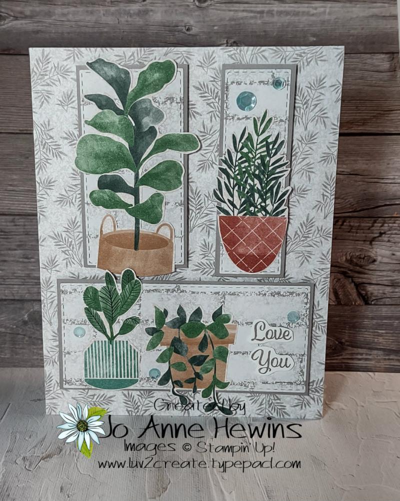 CCMC#672 Plentiful Plants by Jo Anne Hewins
